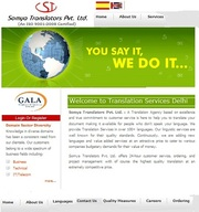 Specific international/regional Domain Languages Translation services Specific